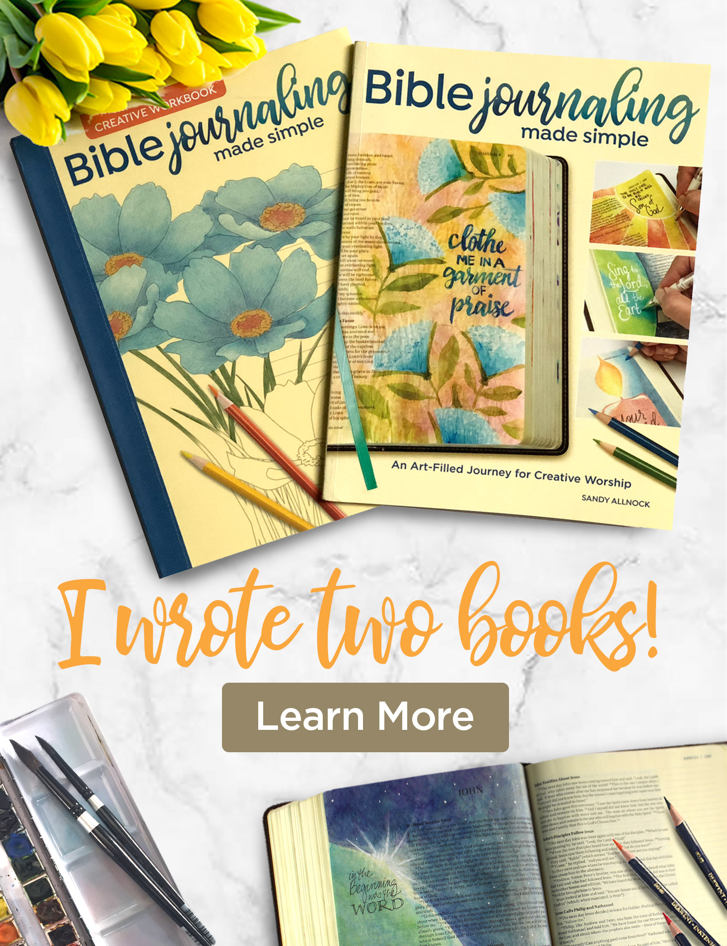 Bible Journaling Made Simple Books