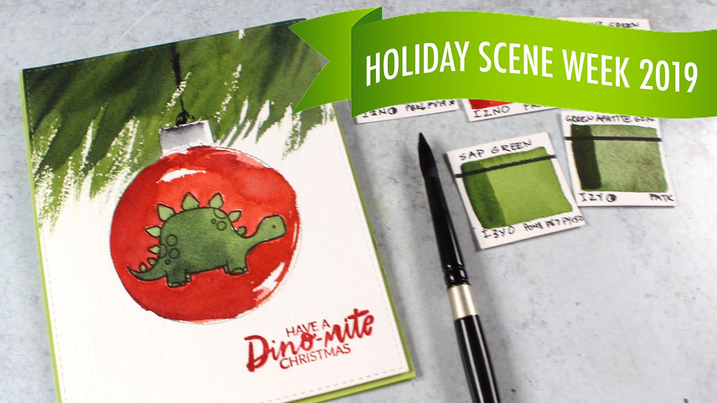 Holiday Scene Week #3: Pine Branch