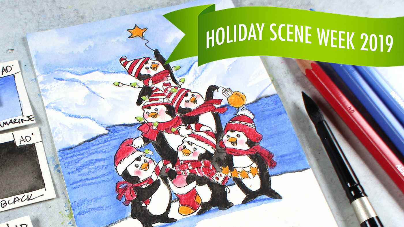 Holiday Scene Week #5, 6, & 7: three videos!