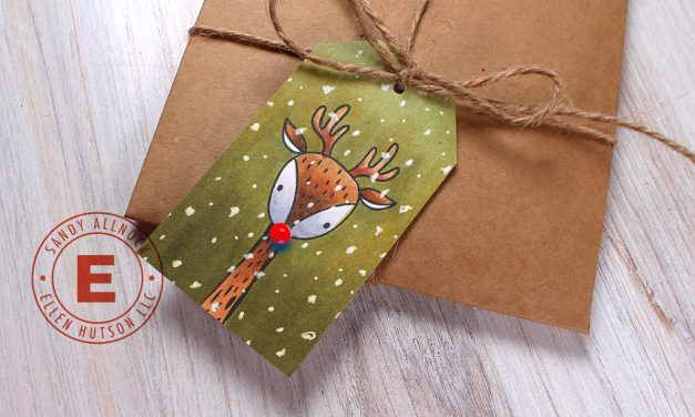 25 Creations of Christmas, Day 1, Rudolph the Red Nosed Reindeer