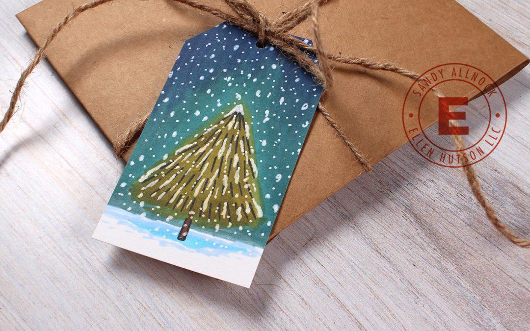 25 Creations of Christmas, Day 11, White Christmas