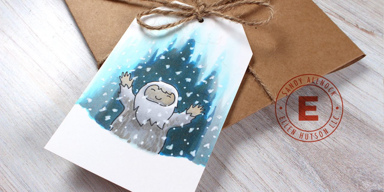 25 Creations of Christmas, Day 8, Let it Snow