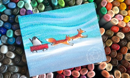 25 Creations of Christmas, Day 20: Arctic Pals