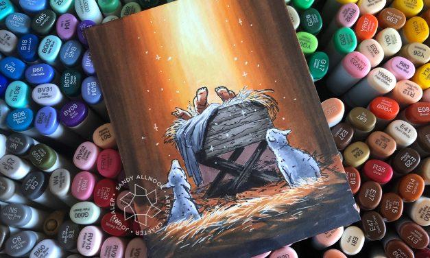 25 Creations of Christmas, Day 25: Bethlehem's Light