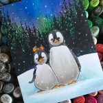 25 Creations of Christmas, Day 21: Penguin Pair