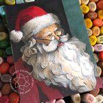 25 Creations of Christmas, Day 24: Vintage Santa + winners!