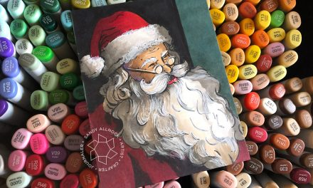 25 Creations of Christmas, Day 24: Vintage Santa + winners!