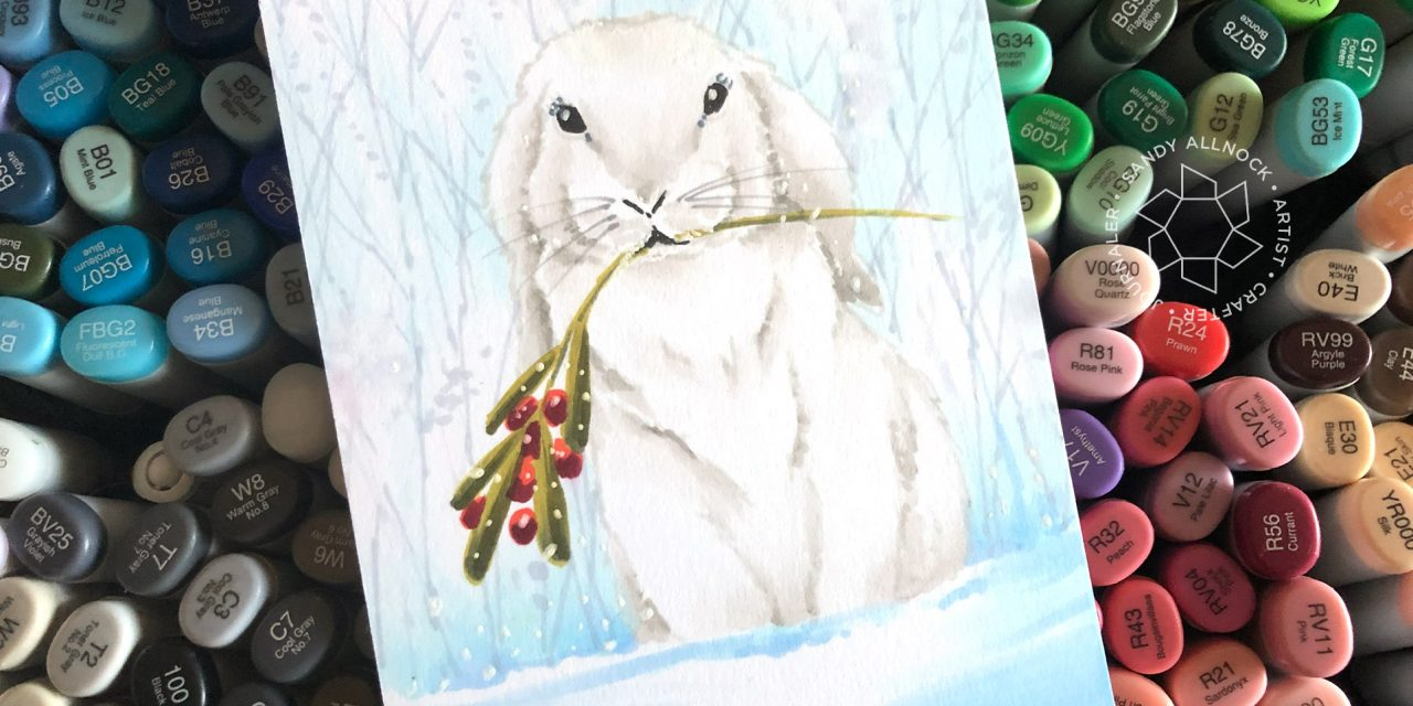 25 Creations of Christmas, Day 18: Sweet Bunny