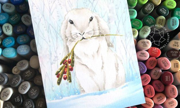25 Creations of Christmas, Day 18: Sweet Bunny