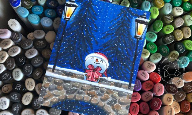 25 Creations of Christmas, Day 17: Snow Fun + help for Santa