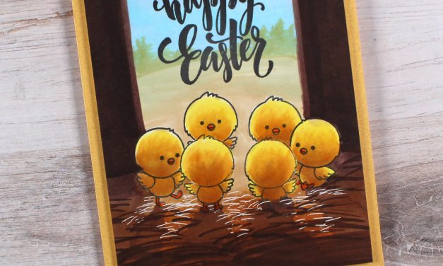Make a Unique Easter Card