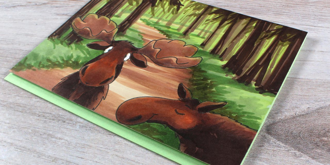 A pair of moose – and learning from our challenges