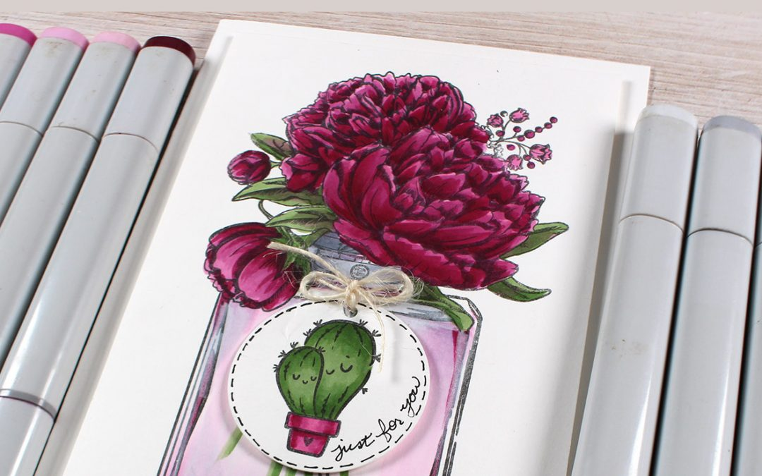 Color Rich Purple Peonies