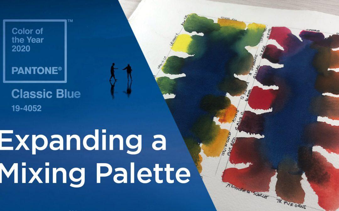 Pantone Classic Blue 2020: Expanding a mixing palette
