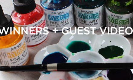 Guest video + winners of 100k giveaways!
