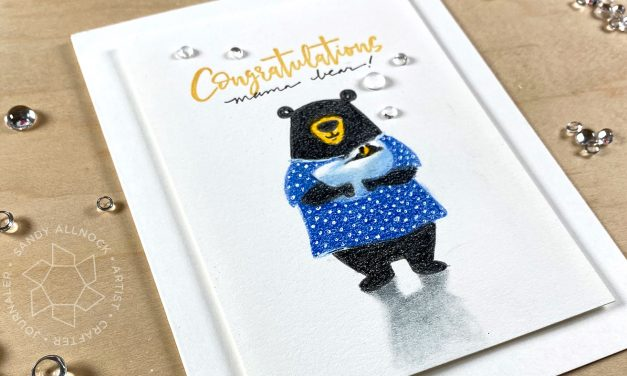 Mama Bear – new baby card