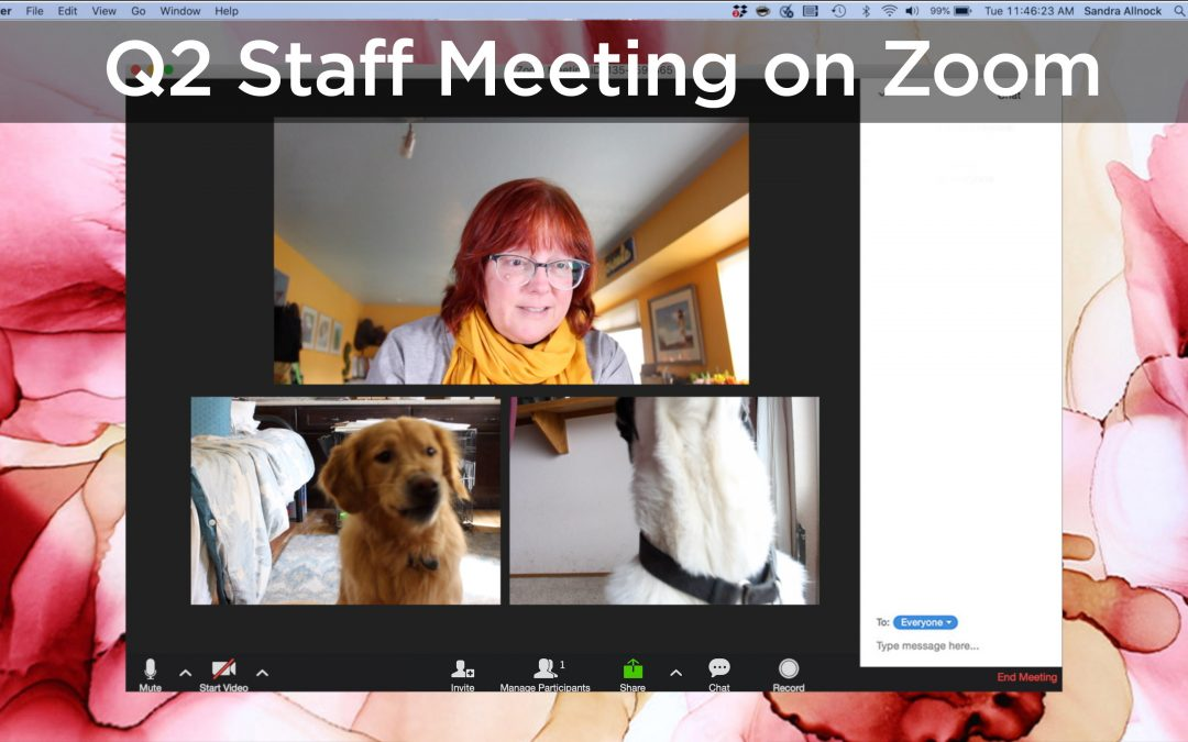 Q2 Staff Meeting on Zoom