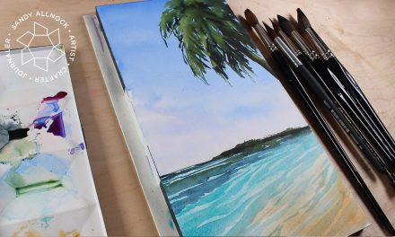 Paint a tropical paradise