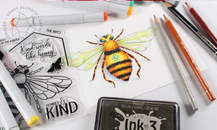 Coloring a realistic bee + social media break
