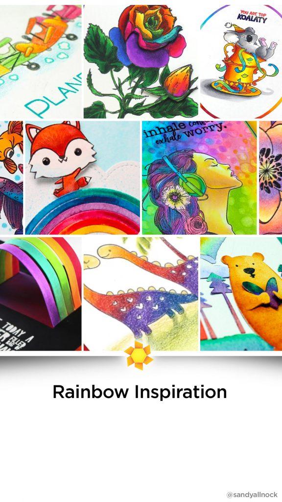 Inspiration: 16 Rainbow Card Tutorials