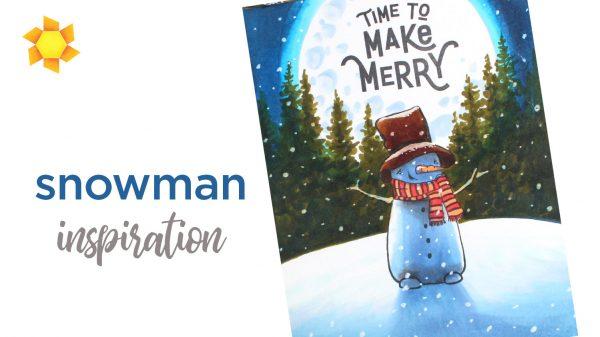 Snowman card inspiration