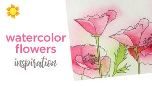 Watercolor Flower inspiration