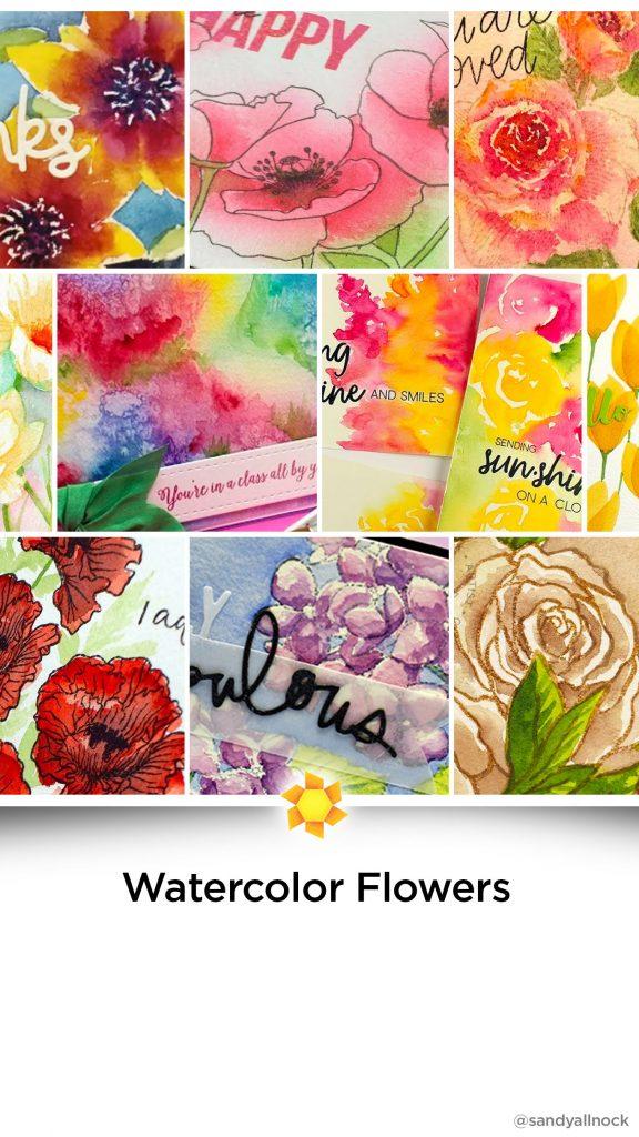 Inspiration: 29+ Watercolor Flower Tutorials