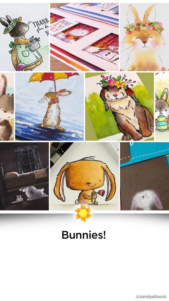 Inspiration: 22+ Bunny/Rabbit Card Tutorials