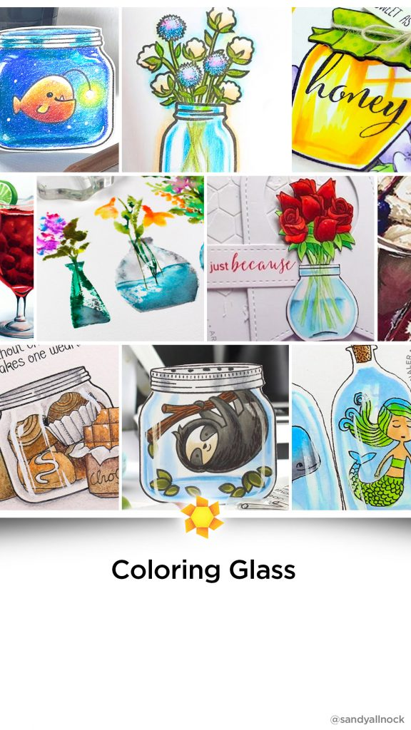 Inspiration: 16+ Glass Coloring Tutorials