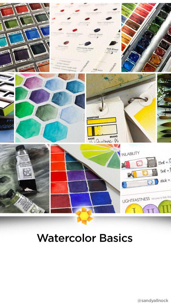 Inspiration: 20+ Watercolor Basics Tutorials