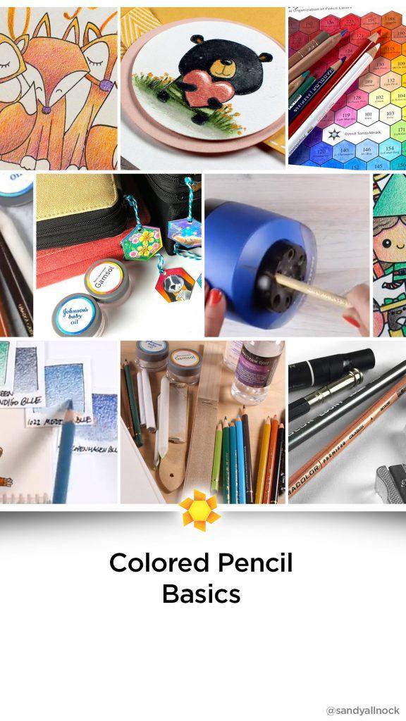 Inspiration: 14+ Colored Pencil Basics Tutorials