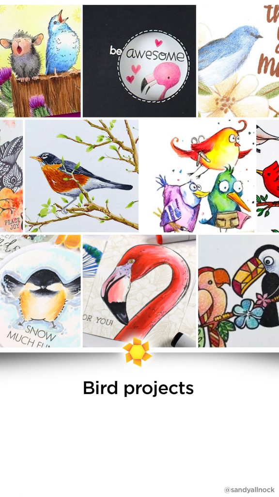 Inspiration: 16+ Bird Card Tutorials