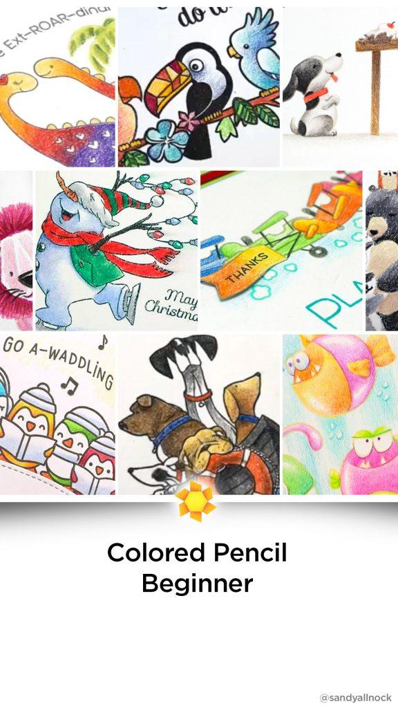 Inspiration: 17+ Colored Pencil Beginner Tutorials