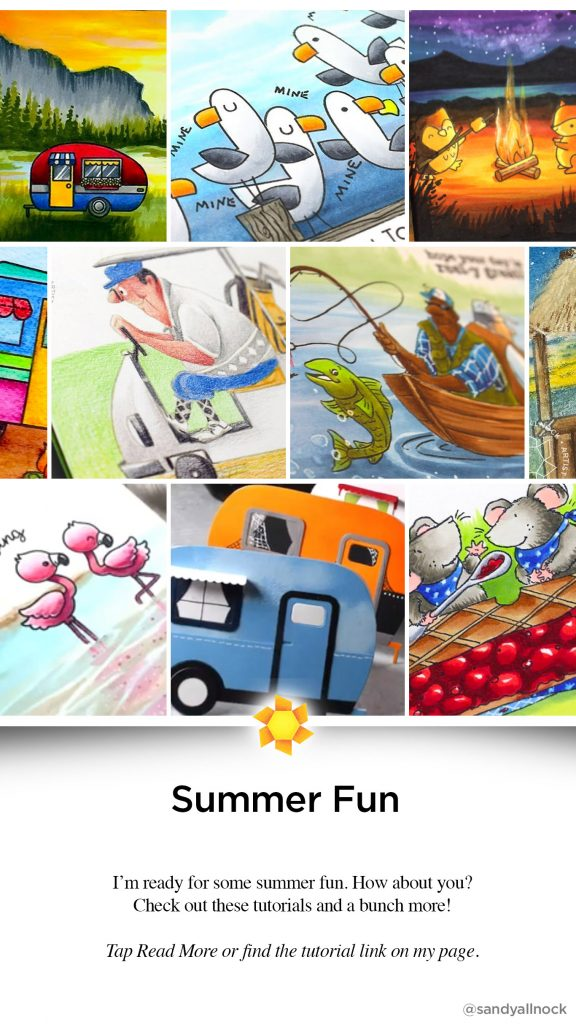 Inspiration: Summer Fun Card Tutorials