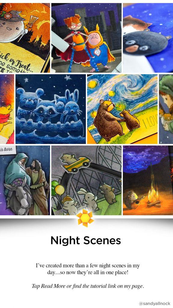 Inspiration: 12 Night Scene Tutorials